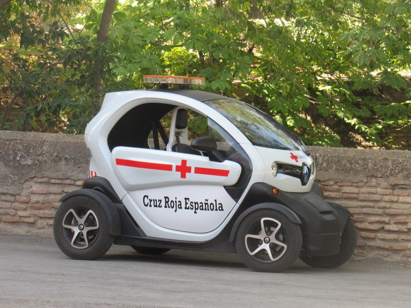 I wish we had this in the USA. Renault Twizy