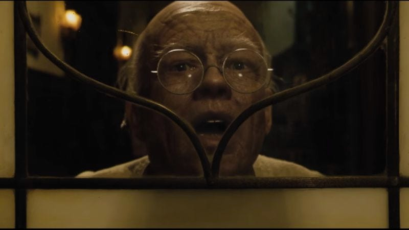 Screenshot: The Curious Case Of Benjamin Button