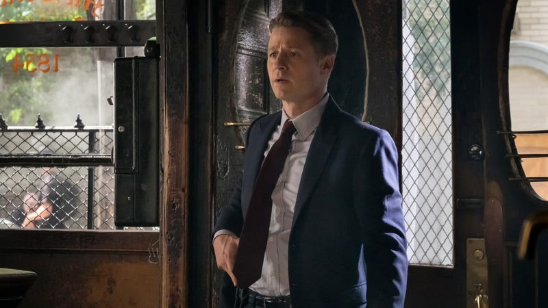 This show releases so many photos of Jim Gordon looking confused. Image: Fox.