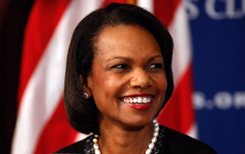 Former Secretary of State Condoleezza Rice in 2010 Chip Somodevilla/Getty Images