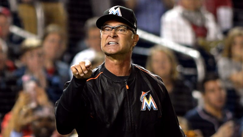 Illustration for article titled Don Mattingly Yelling At Marlins For Leaving Dome Open With AC On