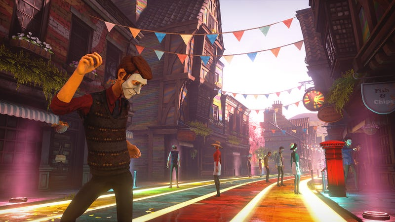 Illustration for article titled We Happy Few Has An Ambitious Mix That I'm Having Trouble Getting Into