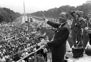 Illustration for article titled The Story Behind the 'I Have a Dream' Speech