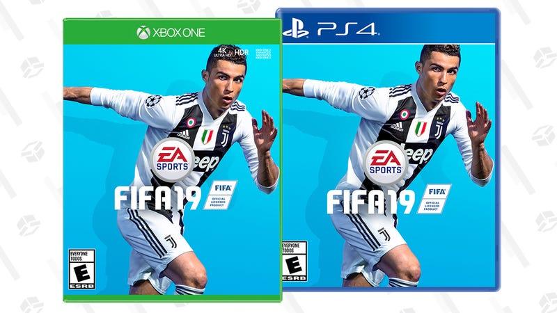 FIFA 19 para Xbox One o PlayStation 4   $29   WalmartGráfico: Elizabeth Zimmerman