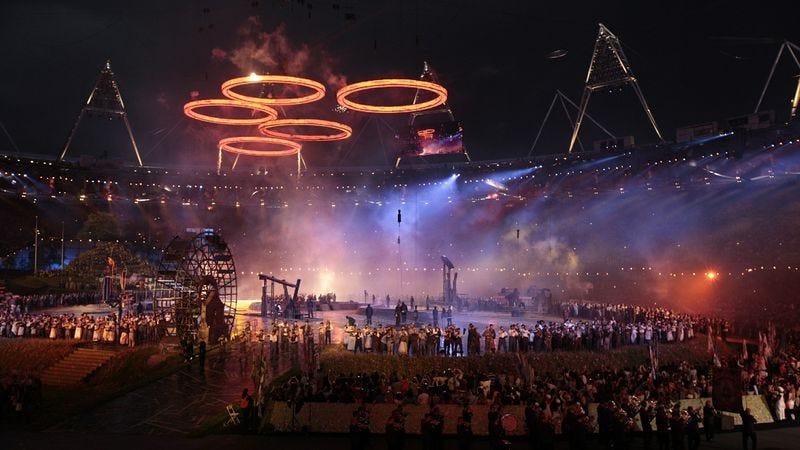 Illustration for article titled The 2012 Summer Olympics: August 4, 2012
