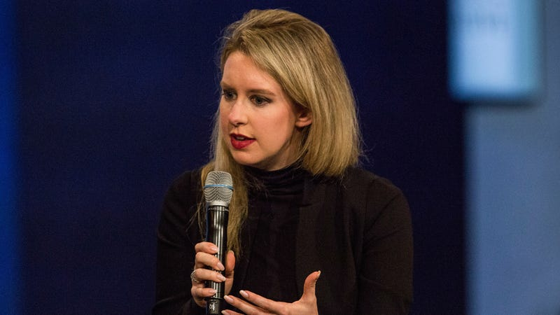 Illustration for article titled Disgraced Theranos CEO Elizabeth Holmes Is Allegedly Looking to Start Another Company