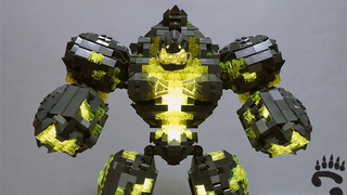 Illustration for article titled This Lego WarcraftMonster Could Actually Double As A Demonic Lamp