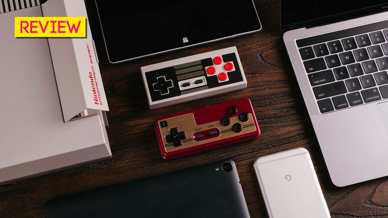 8bitdo Controllers The Kotaku Review Nes30 Pro Retro Bluetooth Controller For Switch Ios Android Pc Mac