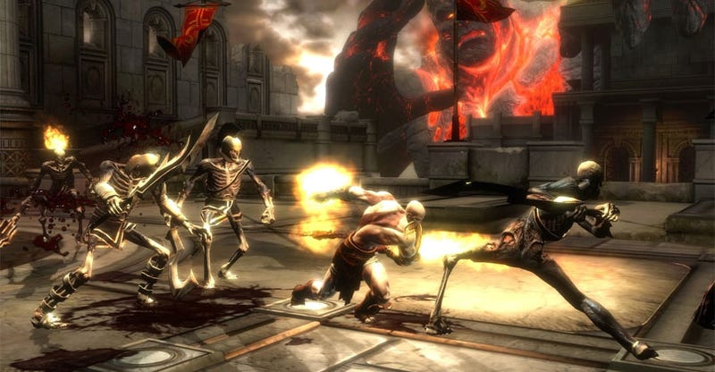 Illustration for article titled God Of War III, MAG Coming This Year, Says Sony