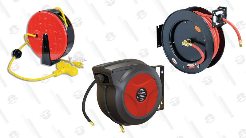Airhose and Cord Reels Gold Box | Amazon