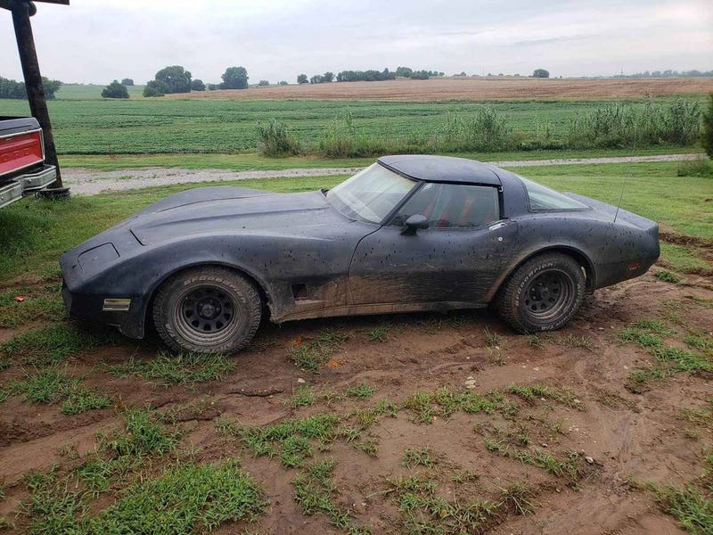 A Teenage Kansas Farmer Built This Diesel Off-Road Corvette