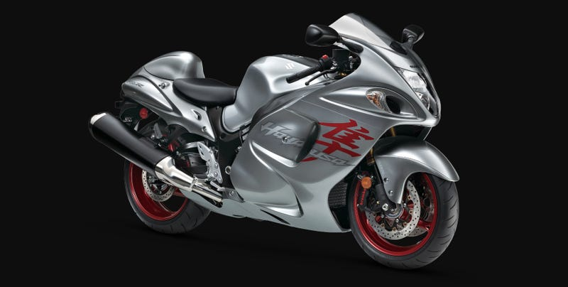 Illustration for article titled Suzuki Ends Production Of The Legendary Hayabusa After 20 Years Of High Speed Dominance