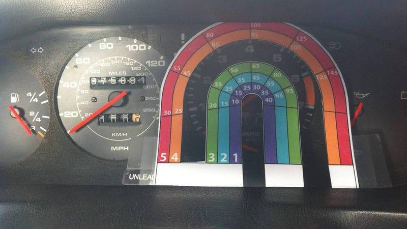 Cómo arreglar el indicador de velocidad del coche solo con matemáticas