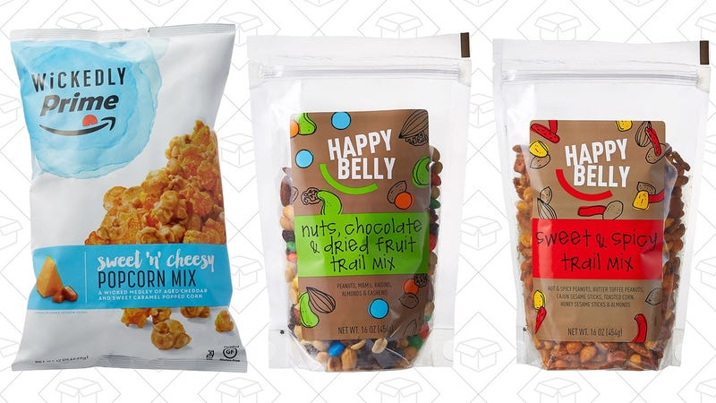 Free snack with $25 purchase with code PRIMESNACK