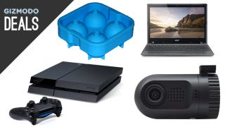 Illustration for article titled A Real PS4 Discount, $100 Chromebook, Ice Balls, Battlestar Galactica
