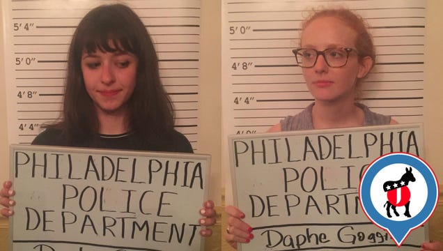 2 Hours at the Philadelphia GOP's Corruption-Themed DNC Party