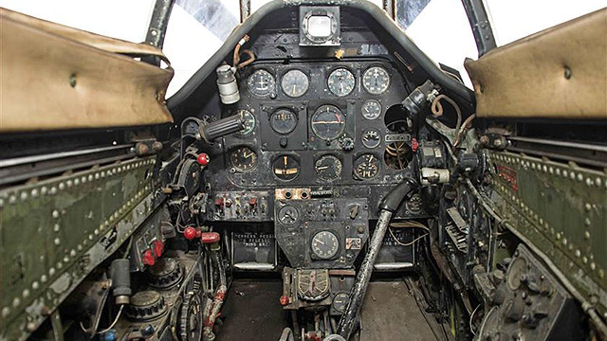 You Can Bid On This Rusty P-51 Mustang For The Price Of A