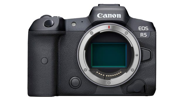 The EOS R5 Looks Like the Beastly Full-Frame Mirrorless Cam That Canon Fans Wanted All Along
