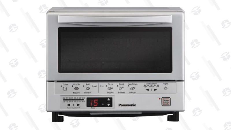 Panasonic Flash Xpress Toaster Oven (White or Silver) | $90 | Amazon