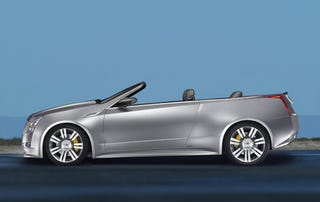 Illustration for article titled Cadillac CTS Coupe Convertible We Never Knew Will Never See Light Of Day