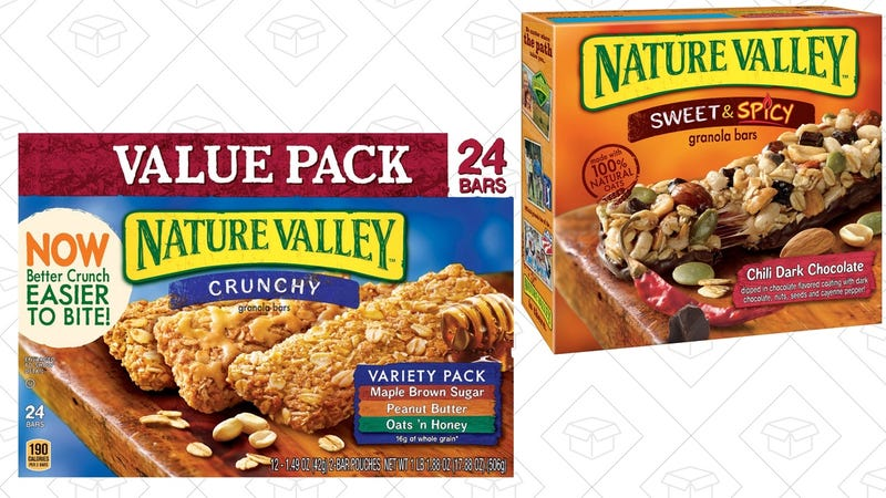 Extra 25% off Nature Valley. Discount shown at checkout.