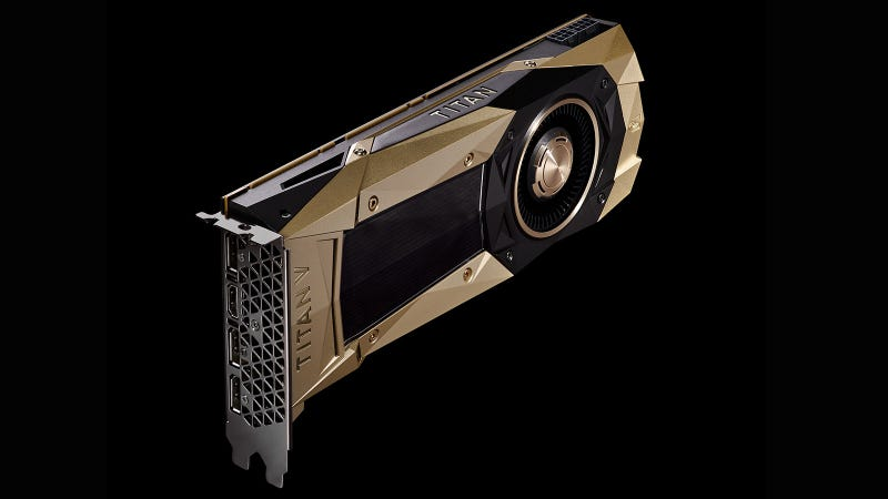 NVIDIA introduces its most powerful GPU - Titan V