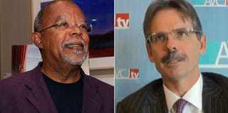Henry Louis Gates Jr. (Gail Oskin/Getty Images for the Weinstein Co.); Glenn Hutchins (YouTube)