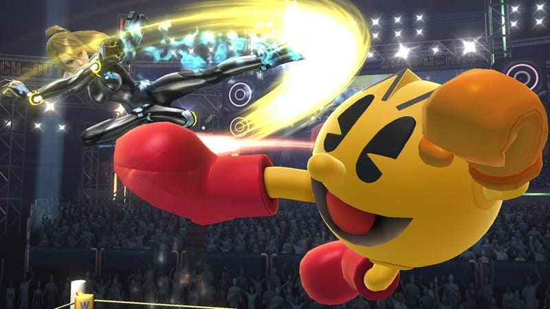 Illustration for article titled Pac-Man Almost Got Into Super Smash Bros. Brawl