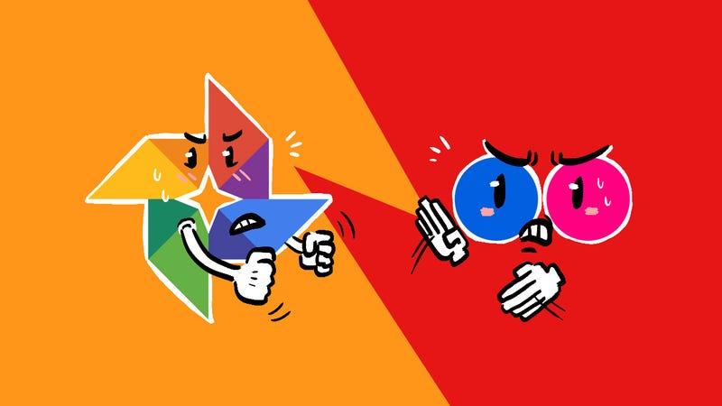 Illustration for article titled Lifehacker Faceoff: Google Photos vs. Flickr