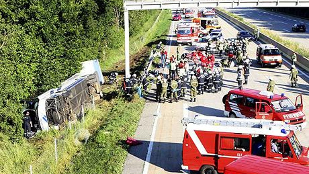 259-Car Autobahn Pile-Up Largest In German History