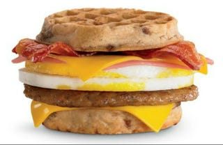 Illustration for article titled Here Are Some of the Silliest Fast Food Breakfast Items in Existence