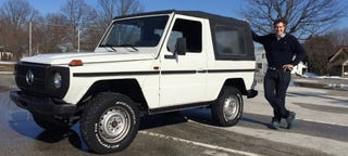 Illustration for article titled Here's What It's Like To Drive A 30-Year-Old Mercedes G-Wagen