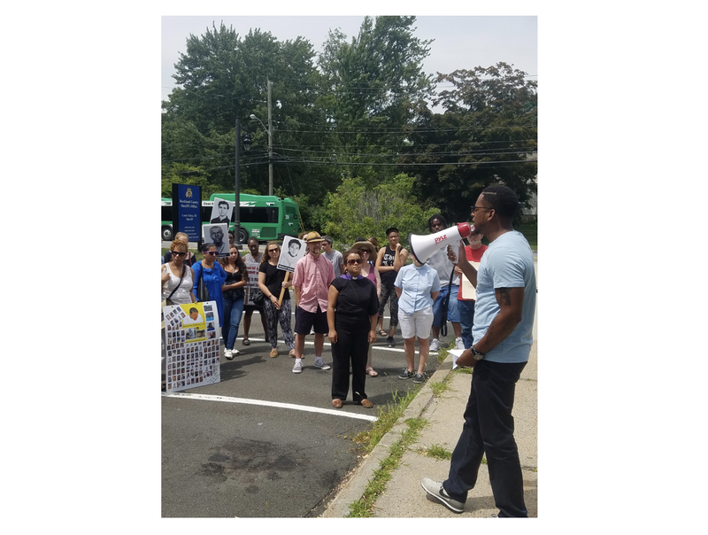 Vanessa Green/ Black Lives Matter Rockland County