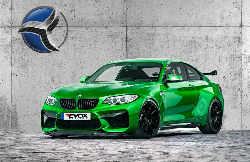 Illustration for article titled This Aftermarket 480HP BMW M2-RS Clubsport Is The M2 You Actually Want