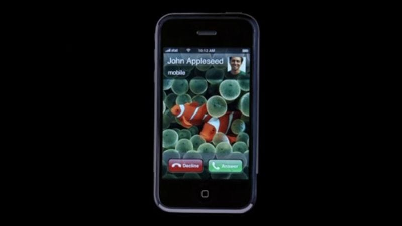 Original iPhone commercial from 2007. (Screenshot: YouTube)