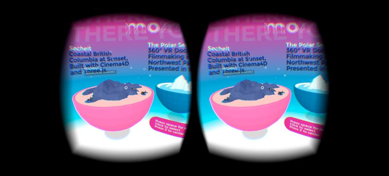 Illustration for article titled Mozilla's New Website Takes VR to the Internet