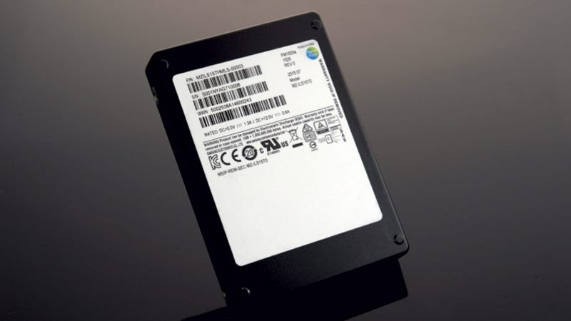 Illustration for article titled Samsung's 16TB SSD Is Now an Actual Thing People Can Buy