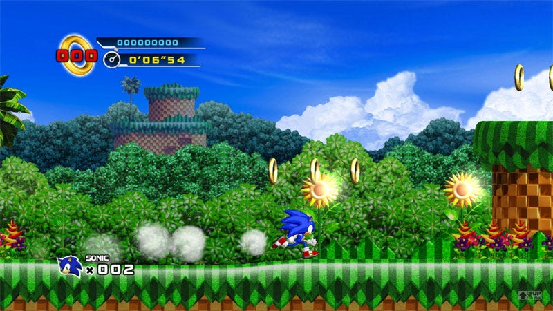Illustration for article titled First Sonic The Hedgehog 4 Screens, Gameplay Videos Leak
