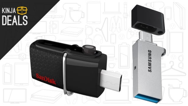 These Ultra-Cheap Flash Drives Connect To Your Android Devices Too