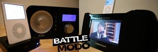 Illustration for article titled SEMIFINALS, Eton Sound 100 iPod vs. Altec Lansing IMV712
