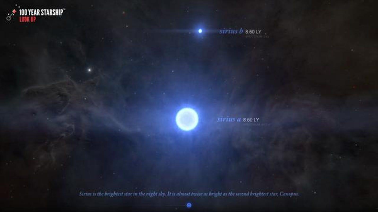 Un viaje fascinante por las estrellas cercanas al sistema solar