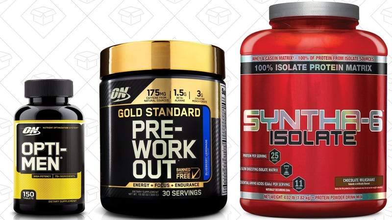 Save Big--And Get Big--On Optimum Nutrition and BSN Supplements, Today Only on Amazon