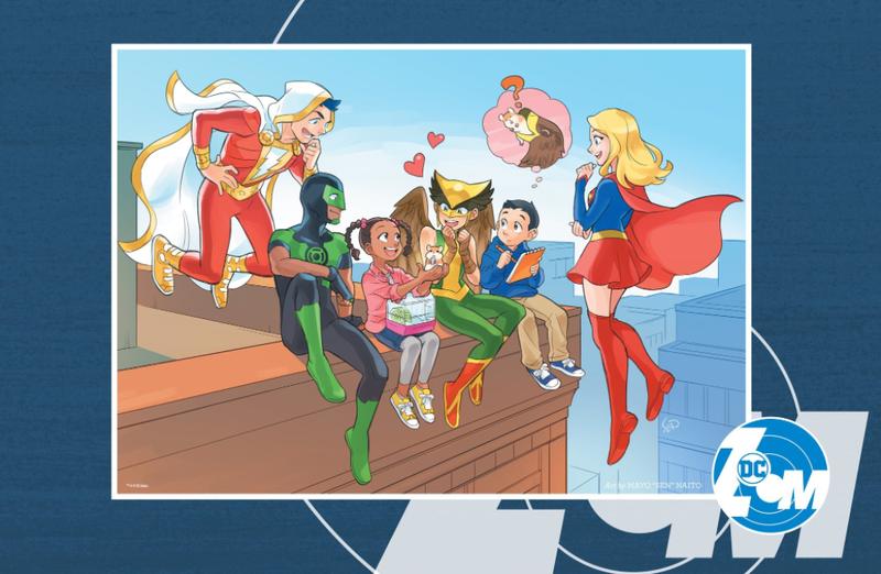 Image: DC Comics, artwork by Mayo Naito