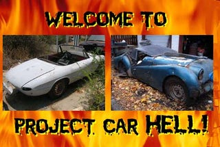 Illustration for article titled PCH, Bad Things Like You Done In Weed Edition: Triumph TR3A or Alfa Romeo Duetto?