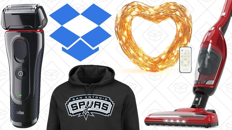 Illustration for article titled Today's Best Deals: String Lights, NBA Apparel, Dropbox Pro, and More