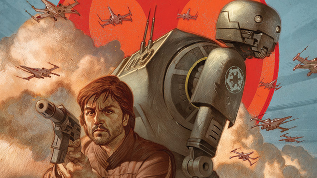 rogue one prequel comic to show how cassian and k 2so first met