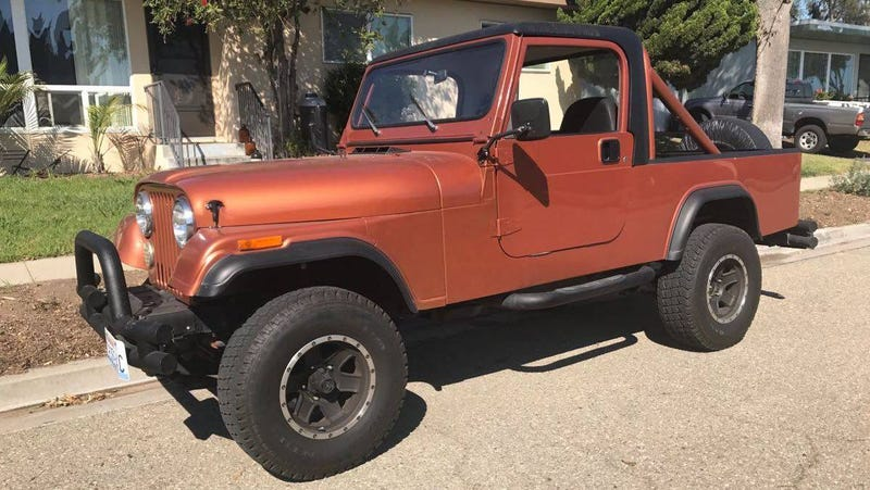 Illustration for article titled At $14,500, Could This 1983 Jeep CJ-8 Get you Scrambling for Your Checkbook?