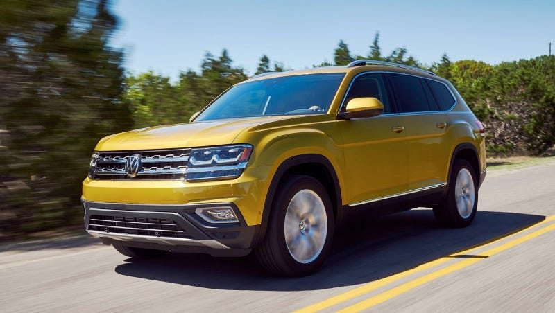 Illustration for article titled Terrified Of Volkswagen Reliability? Here's A Giant Warranty On The 2018 Volkswagen Atlas