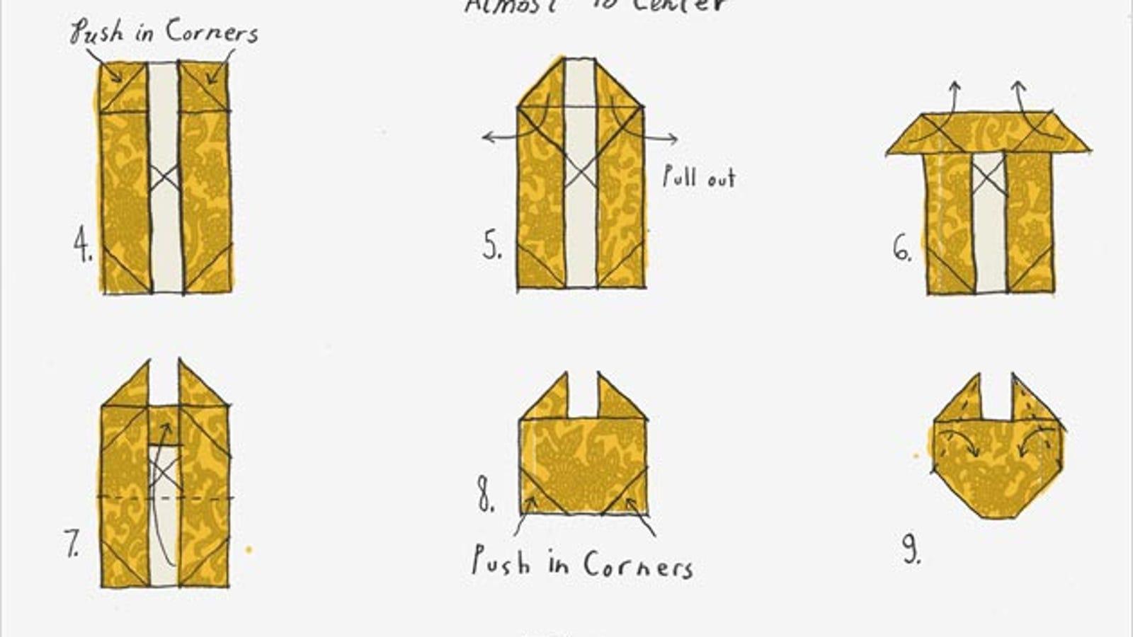 How To Origami Millennium Falcon