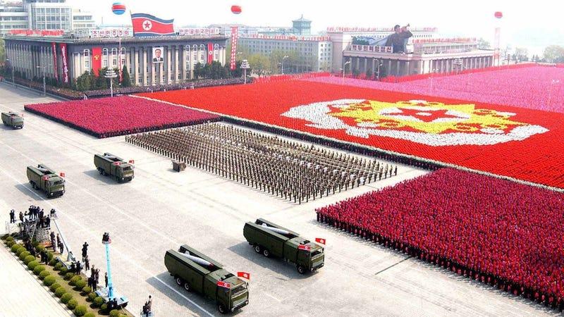 Risultati immagini per north korea military